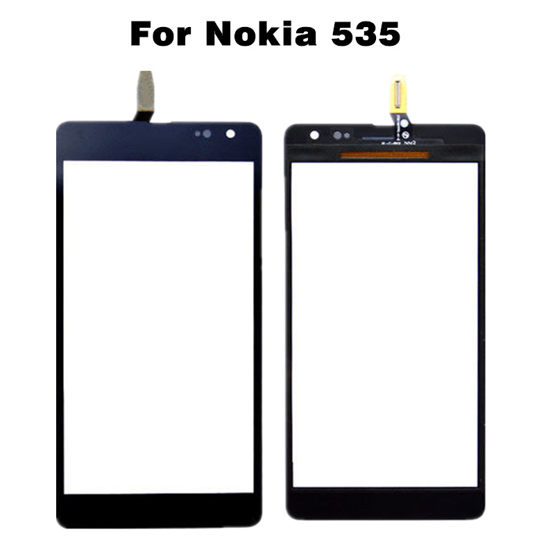 For Microsoft Lumia 535 Touch Screen CT2S1973 for Nokia Lumia 535 CT2C1607 Mobile Phone Touch Panel N535