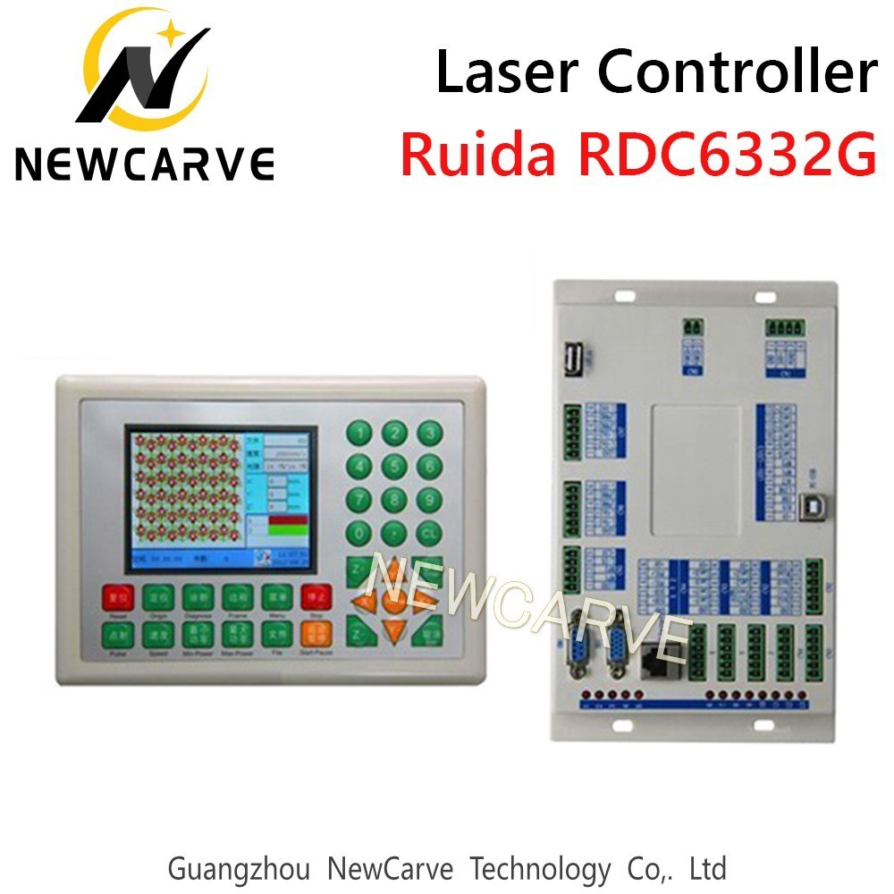 RDC6332M RDC6332G Laser Control System DSP Controller For CO2 Laser Cutting Machine NEWCARVE|CNC Controller| |  - title=