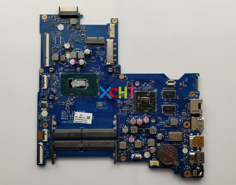 for HP Notebook 15 ay124TX 15 AY Series 903787 001 903787 601 w i7 7500U CPU R7M1 70/2GB CDL50 LA D707P Motherboard Tested-in Laptop Motherboard from Computer & Office