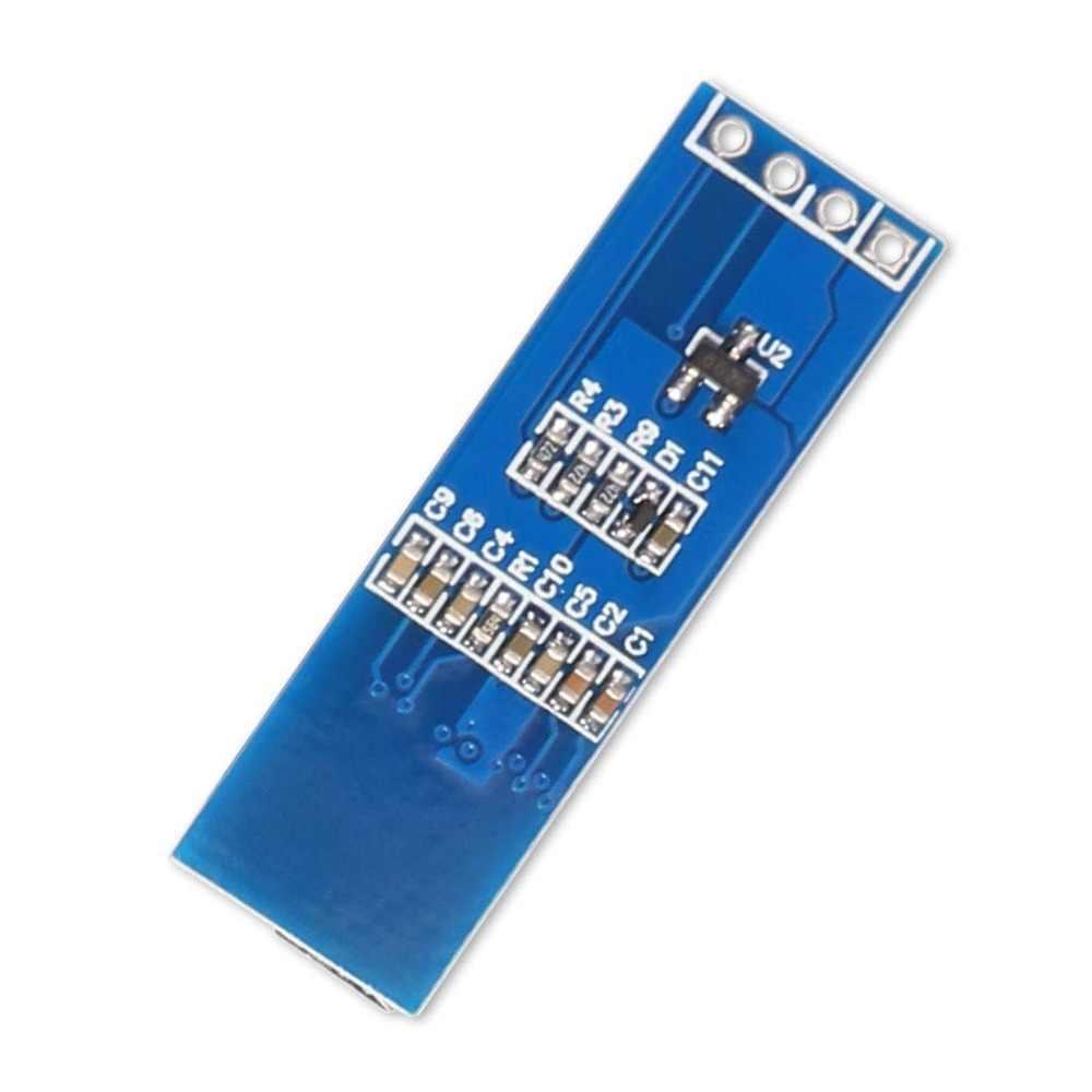 0.91 inch 128x32 IIC I2C Blue OLED LCD Display DIY Module SSD1306 Driver IC DC 3.3V 5V for arduino diy kit