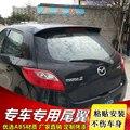 Для Mazda 2 Mazda2 хэтчбек Спойлер ABS пластик Неокрашенный задний спойлер крыло Крышка багажника Крышка автомобиля Стайлинг