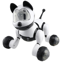Smart Dance Robot Dog Electronic Pet Toys With Music Light Voice Control Free Mode Sing Dance Smart Dog Robot