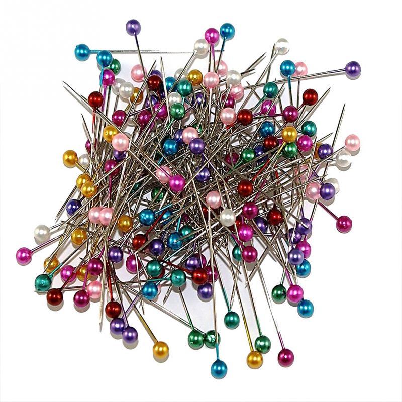 Hot sale 200Pcs Dressmaking Sewing Pin Straight Pins Round