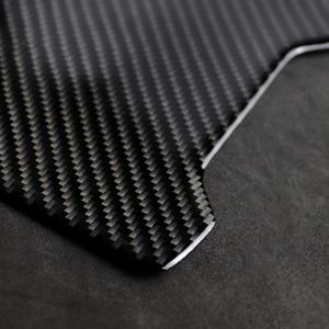 Image 4 - لمرسيدس بنز C الفئة W205 C180 C200 C300 GLC260 ألياف الكربون سيارة الخلفي مسند الذراع صندوق تخزين غطاء لوحة