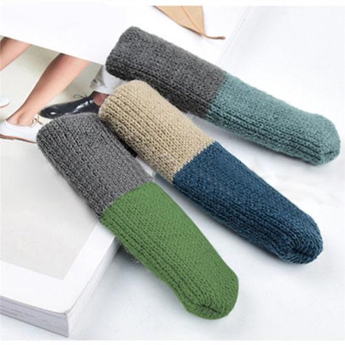 4 шт. вязаные носки для ног на стуле домашняя мебель защита для ног Нескользящие ножки для стола