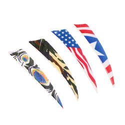 4 дюйм(ов) правое крыло Fletching стрела с пером Охота целевой перо щит стрельба из лука лук интимные аксессуары Fletches s