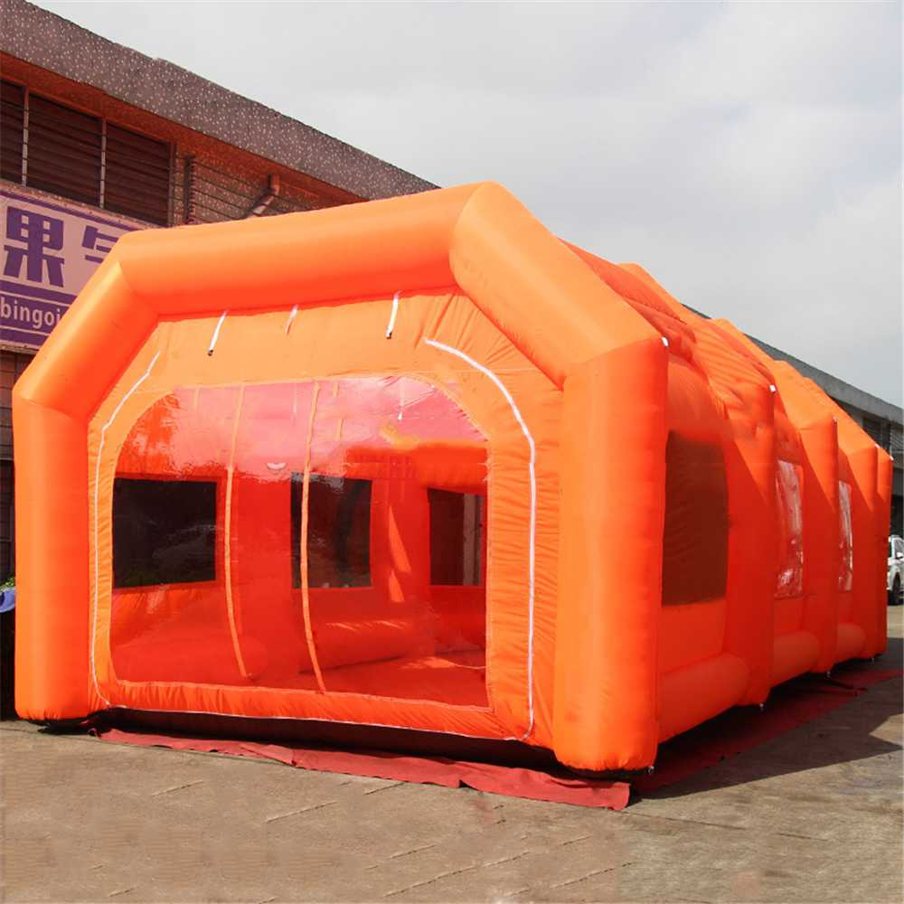 huge discount eb895 0d4c9 Portable Inflatable Garages , Kid Play Tent Children Game , Teepee Paint  Booth Used Inflatable Tent Spray Booth For Cars Sale