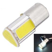 1pcs High Brightness White 1156 G18 Ba15s 4 COB LED Reverse Backup Turn Signal Light Bulb 12V Auto Car Lighting Lamp