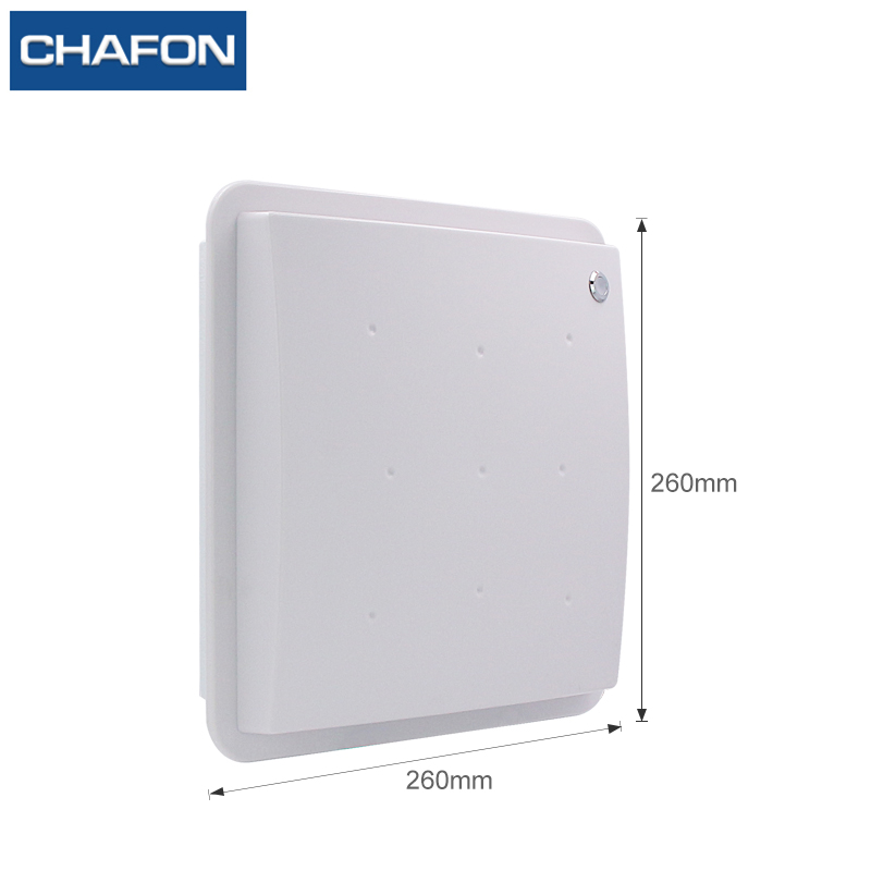 Image 3 - CHAFON 8M mid range uhf rfid integrated reader IP66 RS232 WG26 USB RELAY support firmware upgrade multiple language for parking-in Control Card Readers from Security & Protection