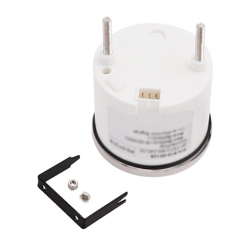 52mm Backlight IP67 9-32 V Marine Digitale Brandstofmeter Meter 240-33 ohm Olie Tank niveau Indicator Fuel Gauge Voor Auto Boot
