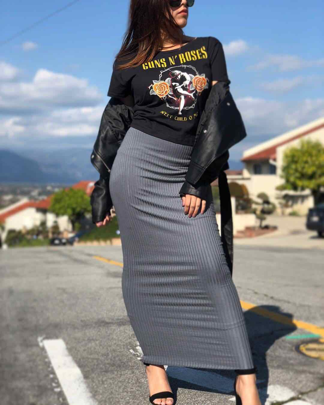 Women Wrap Skirt Bodycon Pencil Sheath Knitting Muslim Maxi Bottoms Sarong Islamic Skirt Ankle-Length