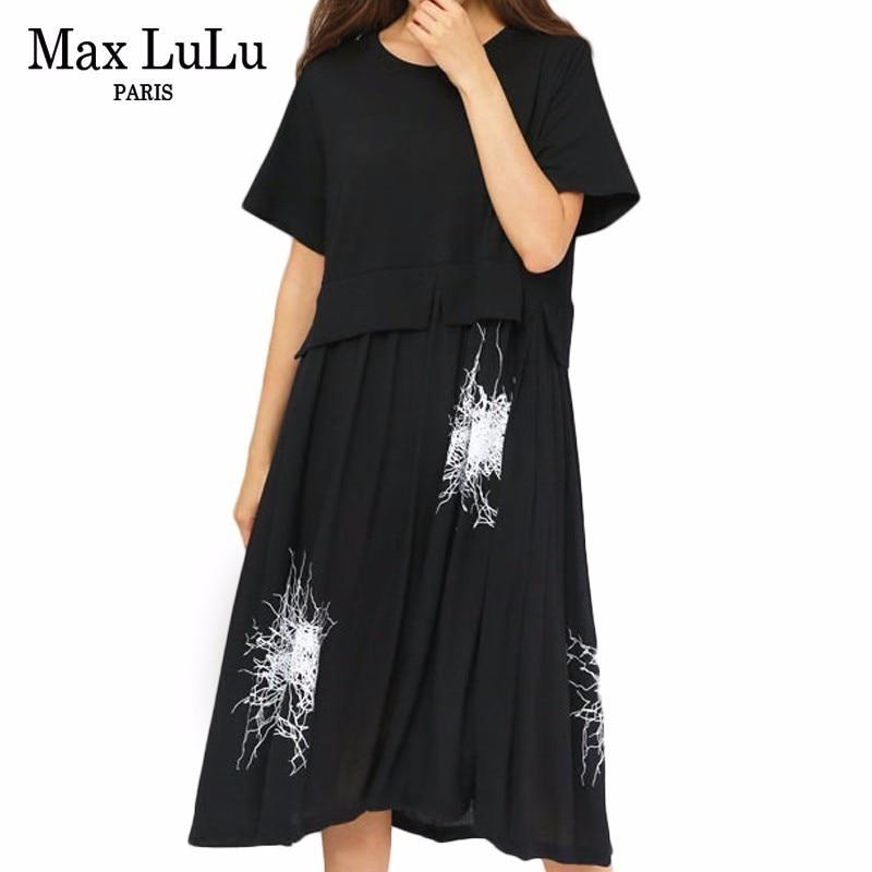 parhaat kengät laaja valikoima paras asenne Max LuLu 2019 Summer Fashion Designer Girls Gothic Clothes ...