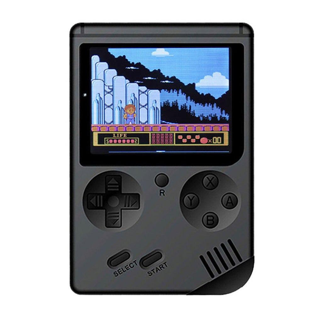 Clever Fc Video Wiederaufladbare Spiel Player Kinder Geschenk Tasche Spielkonsole Eingebaute 400 Spiele Handheld Retro 3,0 bildschirm Tragbare Ausgereifte Technologien Portable Spielkonsolen Unterhaltungselektronik