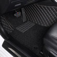 Кожаные автомобильные коврики myfmat под заказ для volvo s40