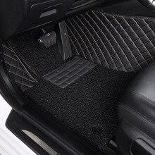 цена на Myfmat custom leather car floor mats for VOLVO S40 S80L S80 XC60 C30 C70 XC90 V60 V40 S60L XC-Classic SKODA Octavia Fabia Superb