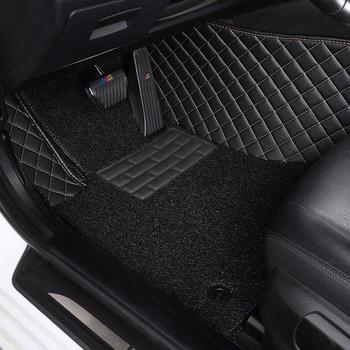 Myfmat custom leather car floor mats for VOLVO S40 S80L S80 XC60 C30 C70 XC90 V60 V40 S60L XC-Classic SKODA Octavia Fabia Superb