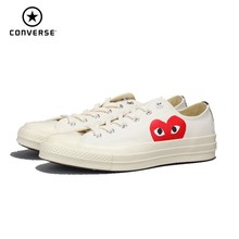 Converse Chuck 70 All Star Original CDG X 1970S Unisex Skateboarding Shoes #150206C