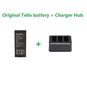 Image 1 - Original Tello Flight Battery & 3in1 Charger Hub 1100mAh 3.8V Batteries Charging Hub For DJI Tello Drone Accessories