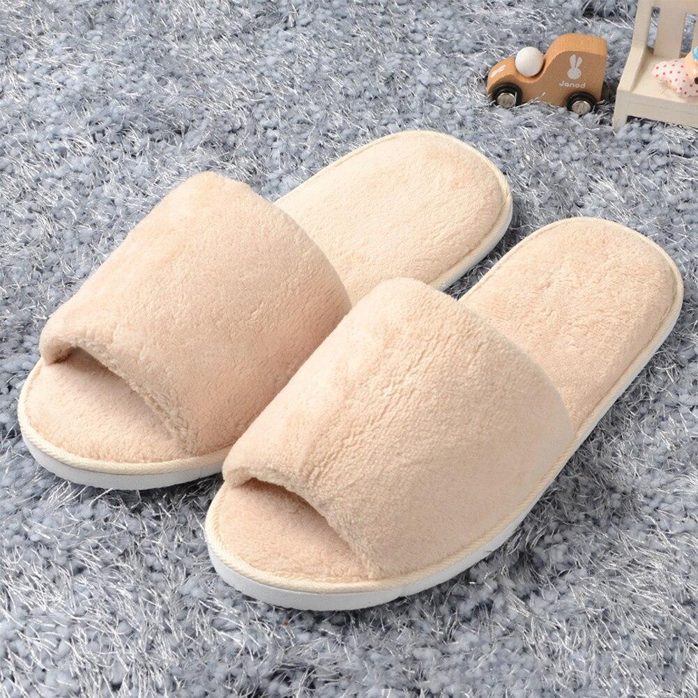 Top SaleÁWomen Men Home Anti-slip Shoes Soft Winter Warm Sandal House Indoor Slippers
