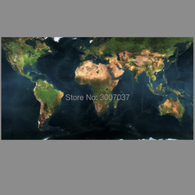 Modern Canvas Pictures Hand painted Wall Art Retro World Map Oil Painting on Canvas For Living Room Home Decoration Posters 2020 christmas gift modern paintings abstract gold oil painting 100% hand painted on canvas for living room decoration wall art