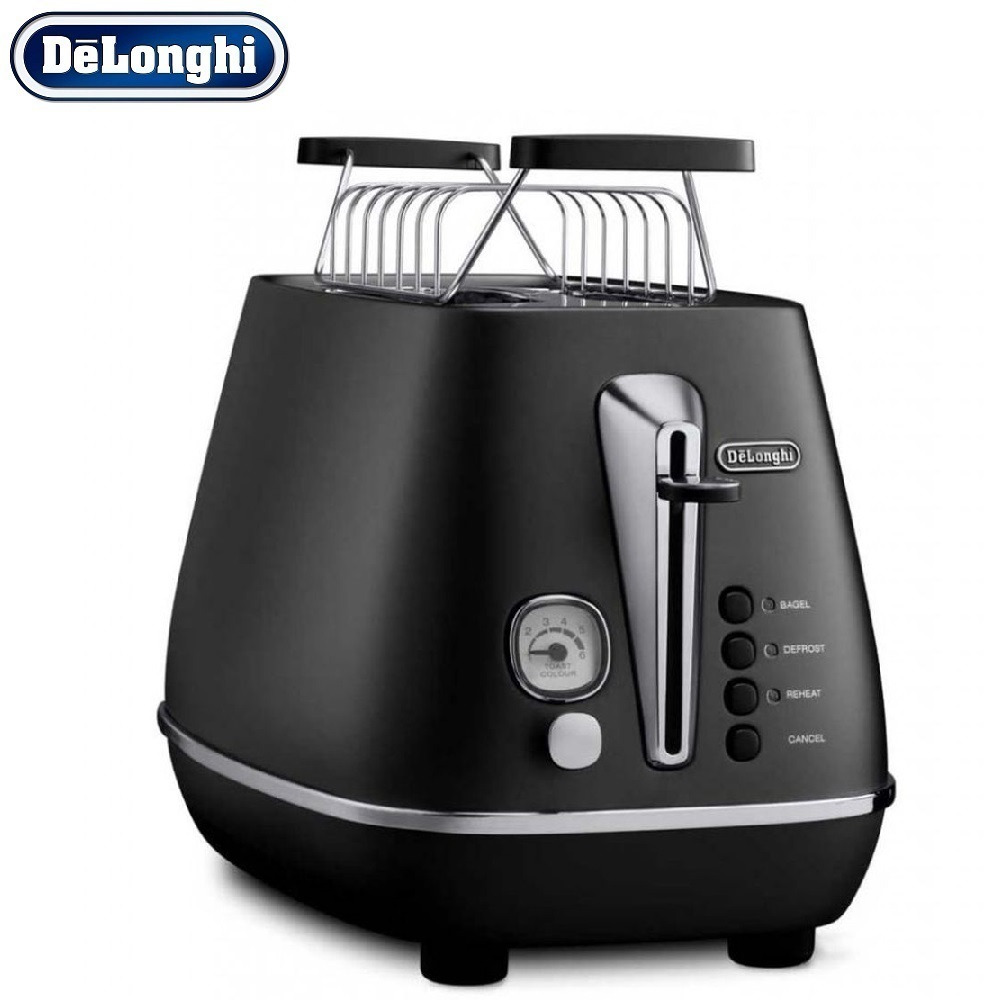 лучшая цена Toasters Delonghi CTI2103.BK home kitchen appliances cooking toaster fry bread to make toasts