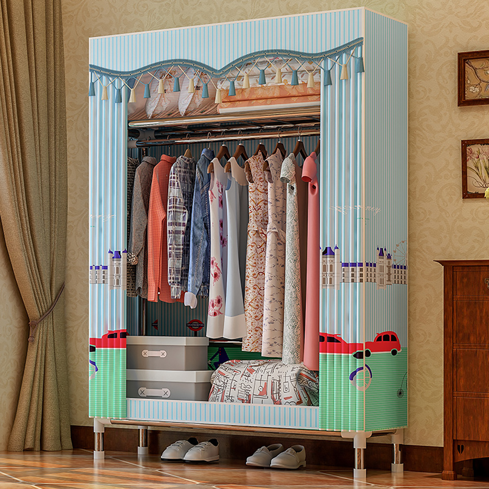 Storage-Organizer Garment-Storage Wardrobe Closet Moisture Breathable Fleece Dust-Proof