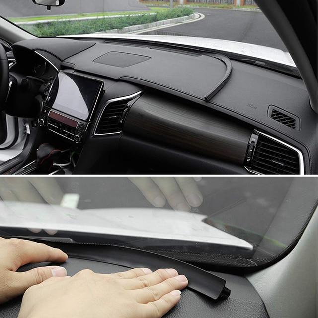 자동차 고무 사운드 씰 스트립 1.6 m u 유형 대시 보드 절연 자동 앞 유리 가장자리 갭 씰링 스트립 자동차 인테리어 액세서리