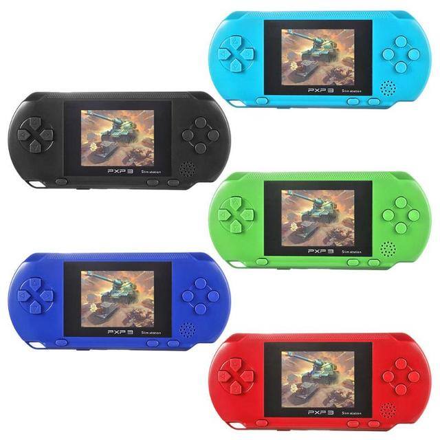 PXP3 Portable Handheld Game Console 16 Bit Retro Children Kids MD2700 Video Game Palyer Built-in 150 Games 2.6 inch HD Display