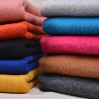 Bazin Riche Getzner Color Double sided Grinding Wool Cashmere Cloth Son Double Fabric With Thick Coat Clothing Diy Material
