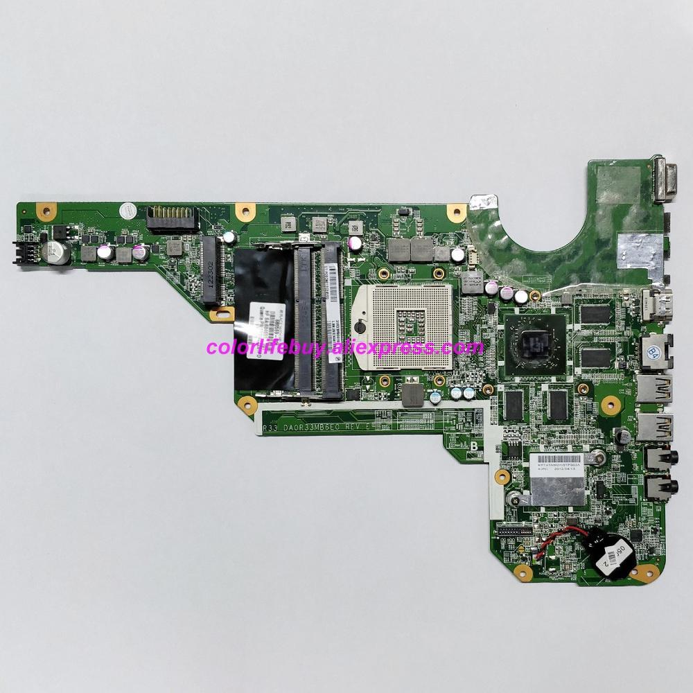 Натуральная 680569 001 680569 601 DA0R33MB6E0 w 7670/1G Графика Материнская плата ноутбука для hp G4 G6 G6T серии ноутбук ПК-in Материнская плата для ноутбука from Компьютер и офис