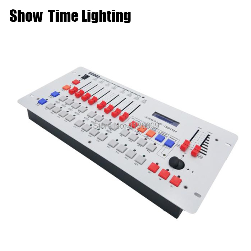 SHOW TIME Disco 240 DMX Controller Stage Light DMX Signal Console For XLR-3 Led Par Moving Head DJ Light Stage Effect Light