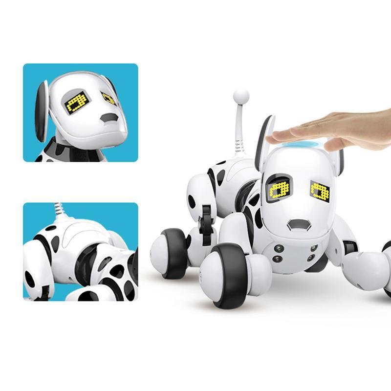 Télécommande sans fil Intelligent Robot chien enfants jouets intelligents parlant chien Robot électronique jouet pour animaux de compagnie cadeau d'anniversaire en boîte - 4