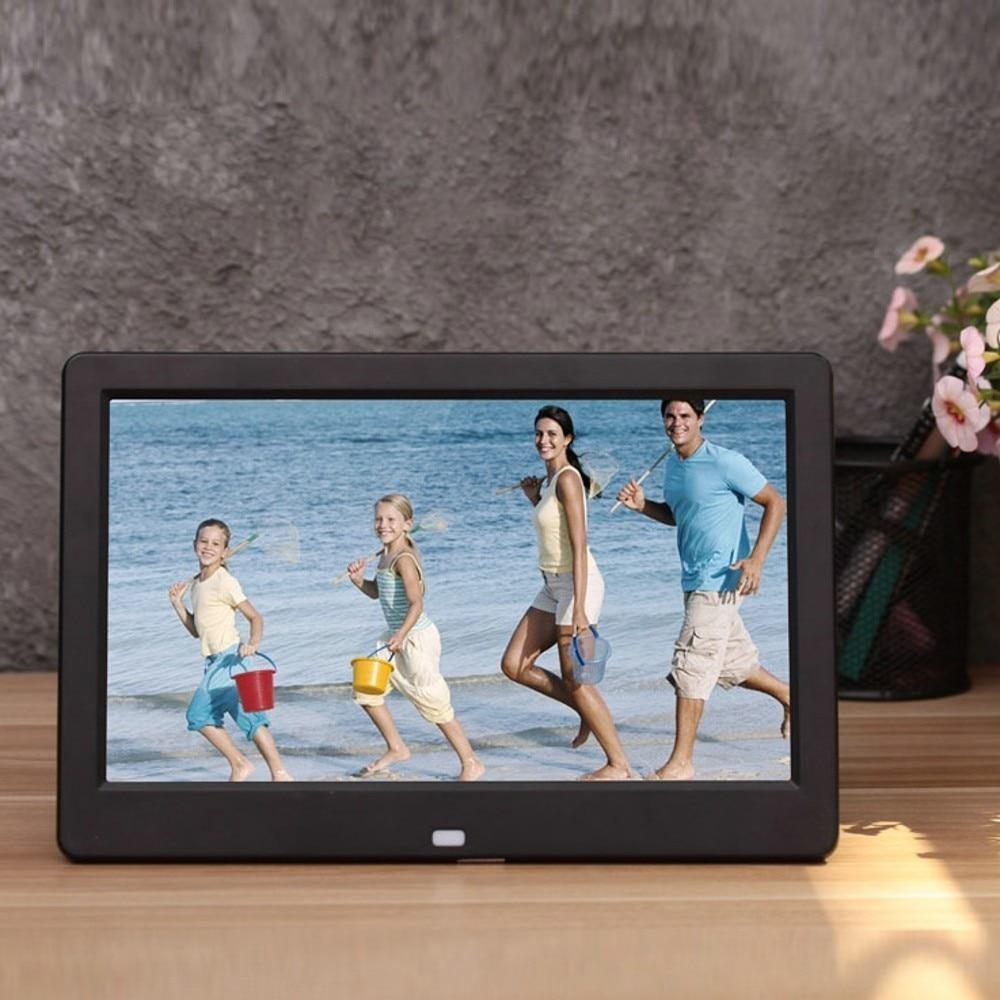 Nouveau 10 pouces écran LED rétro-éclairage HD 1024*600 cadre Photo numérique Album électronique Photo musique film pleine fonction bon cadeau - 3