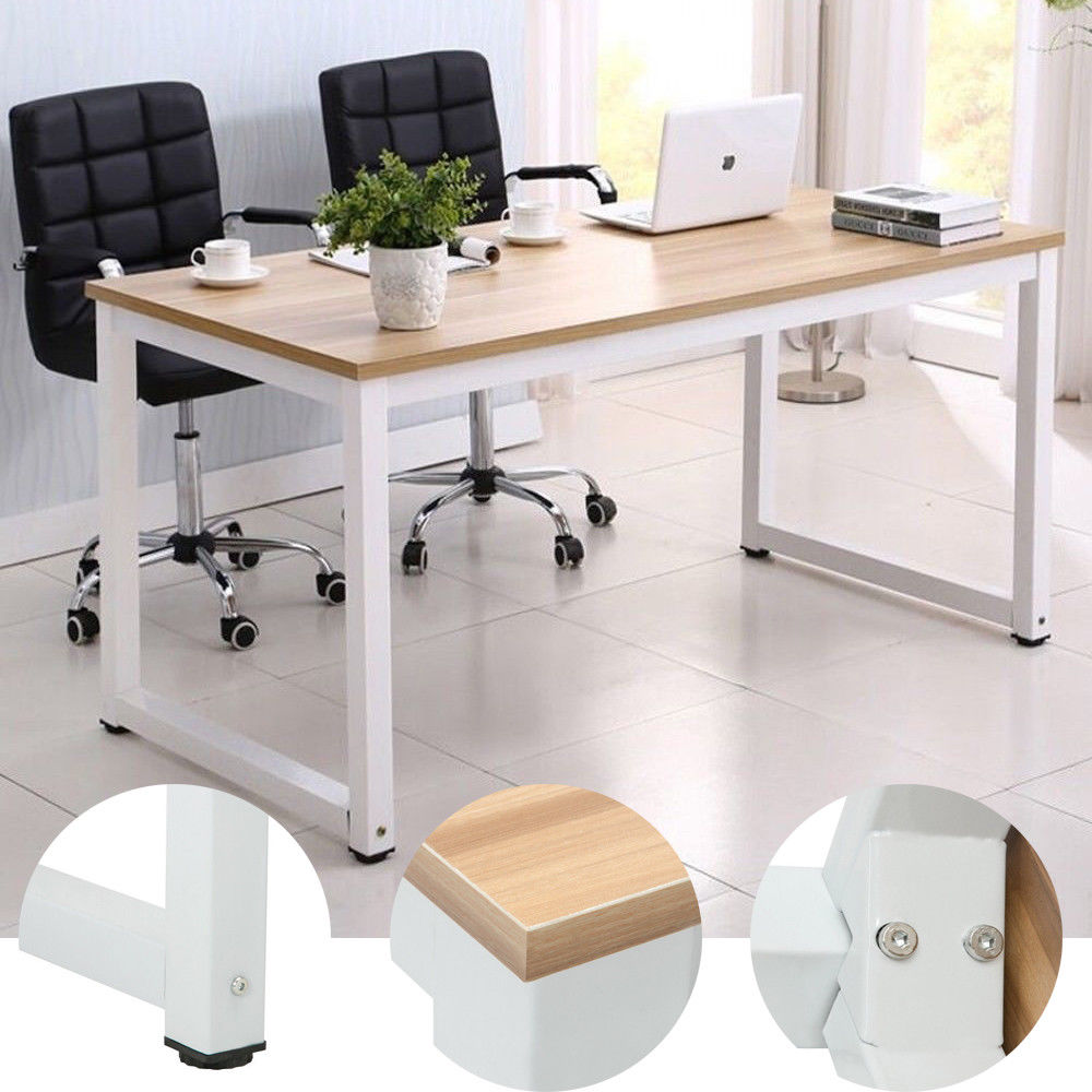 Computer Desk PC Laptop Table Workstation Study Home Office Furniture Wood Desk