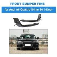 Car Vent Fender Trim For Audi A6 Sline / S6 2015 2018 Carbon Fiber