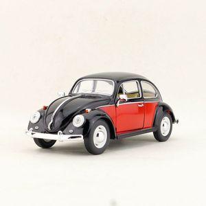 Image 2 - Spedizione gratuita/KiNSMART Toy/modellino pressofuso/scala 1:24/1967 Volkswagen classic Beetle Car/collezione educativa/regalo per bambino