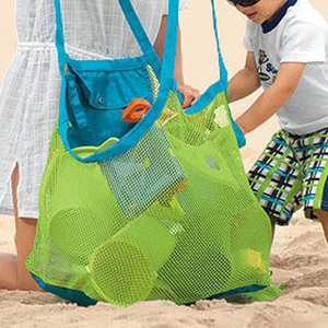 Sand-Dredging-Tool Mesh-Bag Sundries-Storage Aurora-Gadgets Beach-Toys Outdoor Large