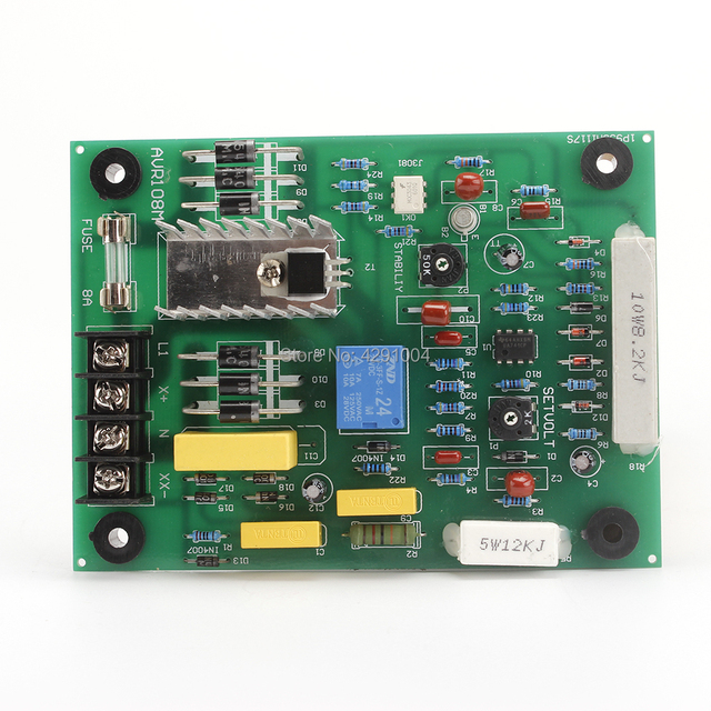 US $36 0 |AVR 703 PCB PC Board High Quality Automatic Voltage Regulator for  Generator -in Generator Parts & Accessories from Home Improvement on