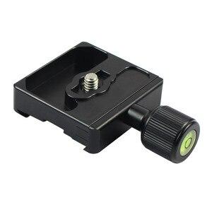 Image 5 - Adapter Platte Platz Clamp mit Gradienter für Quick Release Platte für Stativ Ball Kopf Q19819
