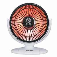 Mini Home Heater Infrared 220V 220W Portable Electric Air Heater Warm Fan 220*225MM Desktop for Winter Household Bathroom