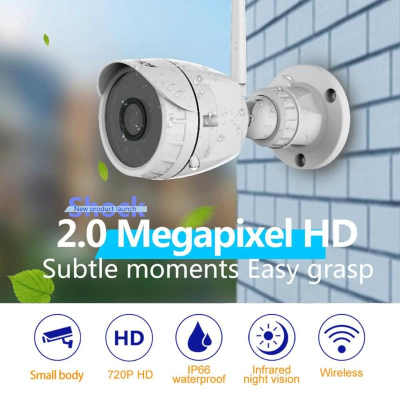 Mini Camcorders Forceful Vstarcam C17/c17s Wireless Wifi Ip 720p/1080p Camera Ir-cut Night Vision Outdoor Ip66 Waterproof P2p Webcam Camcorder Recorder Bright Luster