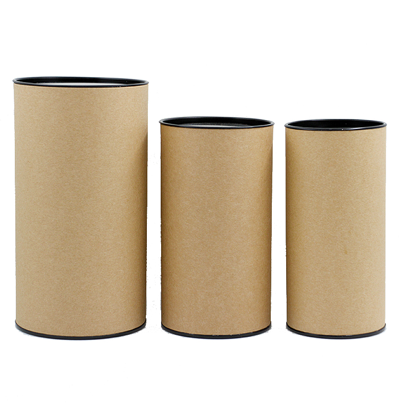 Xin Jia Yi Packaging Eco Paper Tube Baby Gift Decorative Tin Cap Round Shape Paper Box Hot Sale Japanese Paper Gift Boxes