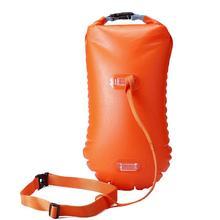 Водный спорт плавательный буй Многофункциональный плавательный дрейфующий надувной одиночный подушка безопасности плавательный спасательный буй аксессуары для бассейна