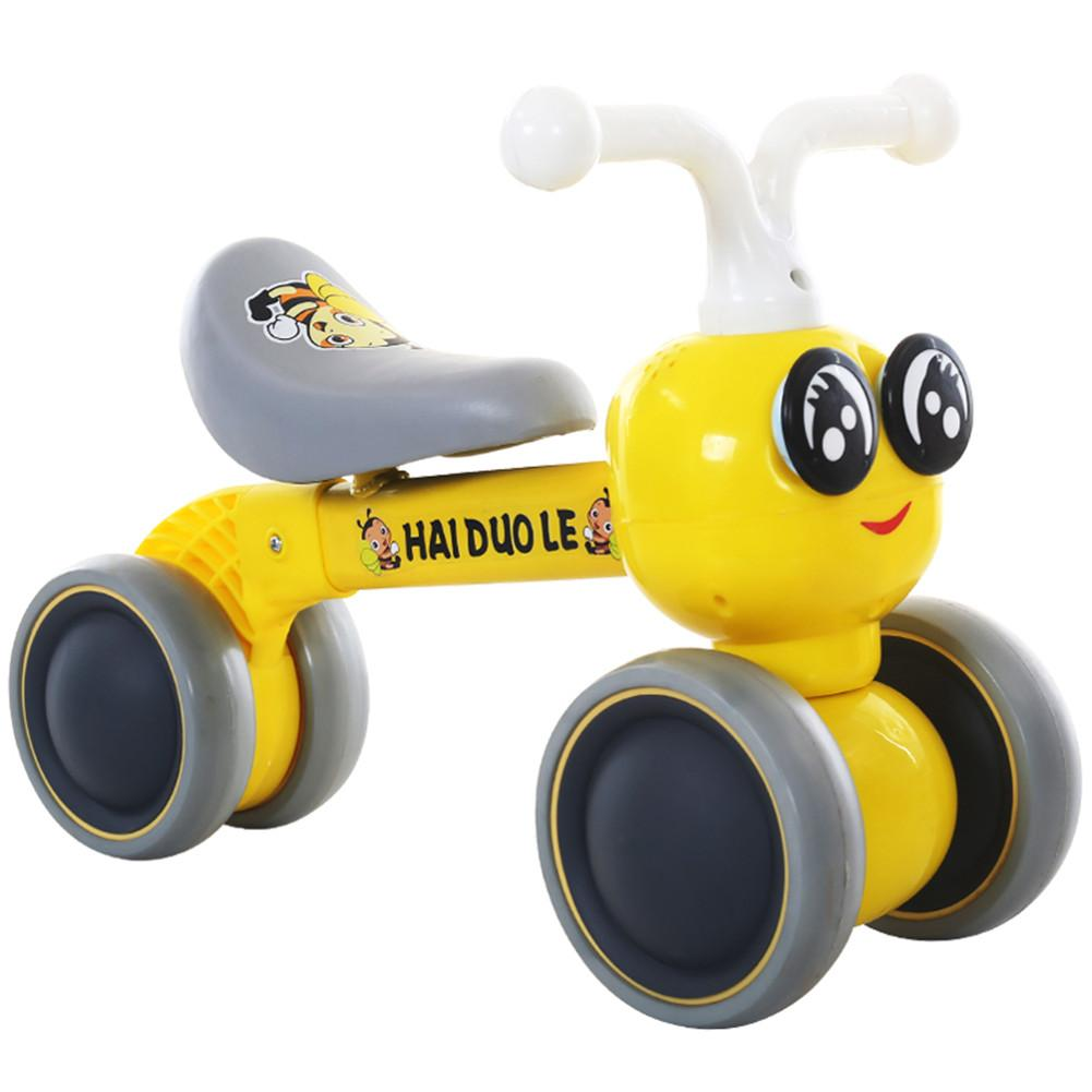 Hai Dou Le 12 Inch Toddler Bike No Pedals For 1 – 5 Year Old, 4 Wheel 1