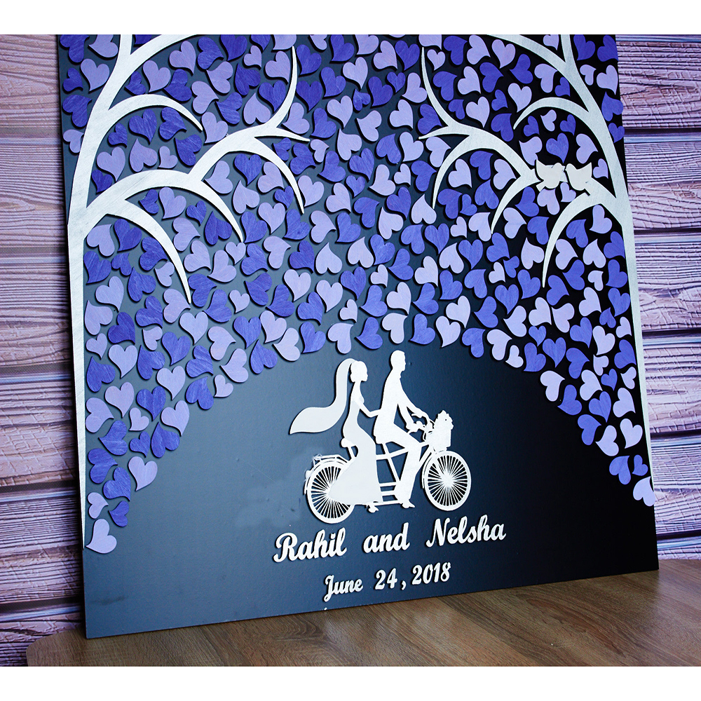 3D Bicycle wedding guest book Tandem Bicycle wedding guestbook alternative Wedding sign Custom Guest book Unique Gift for couple3D Bicycle wedding guest book Tandem Bicycle wedding guestbook alternative Wedding sign Custom Guest book Unique Gift for couple