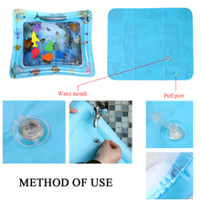 660X500mm Tummy Time Water Mat