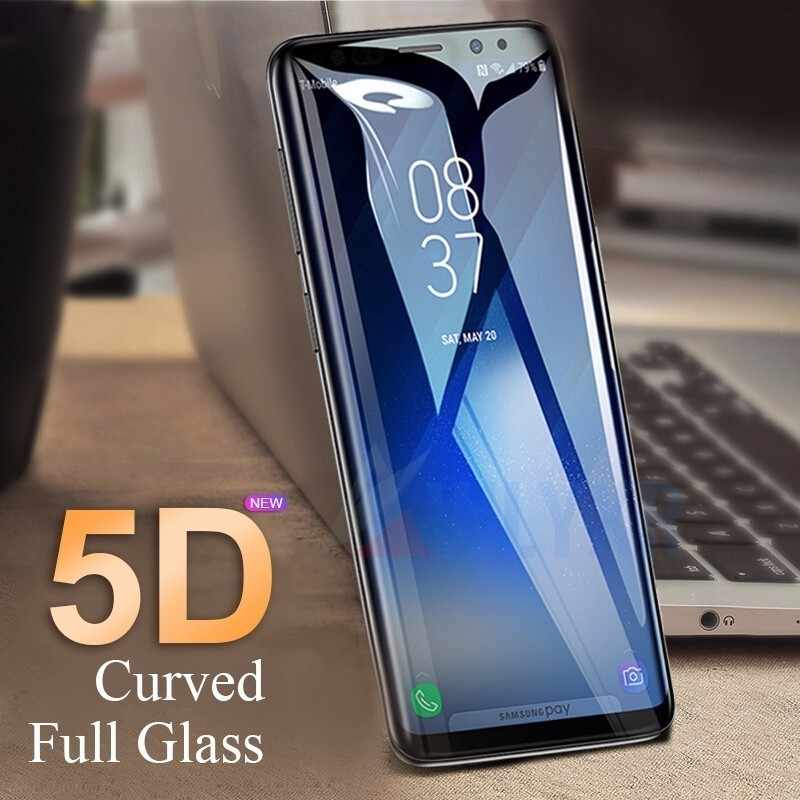 a6 2018 case 5D Protective Glass For Samsung galaxy j6 a8 a6 plus 2018 tempered glass a7 a5 a3 j3 j5 j7 2017 prime film a6 Glas