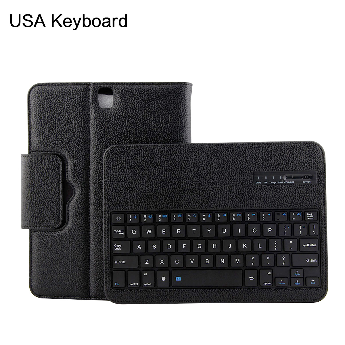 For Samsung Galaxy Tab S3 9.7 Tablet Case With Bluetooth USA Keyboard Flip Stand Leather Case For Samsung Tab S3 9.7 T820/T825