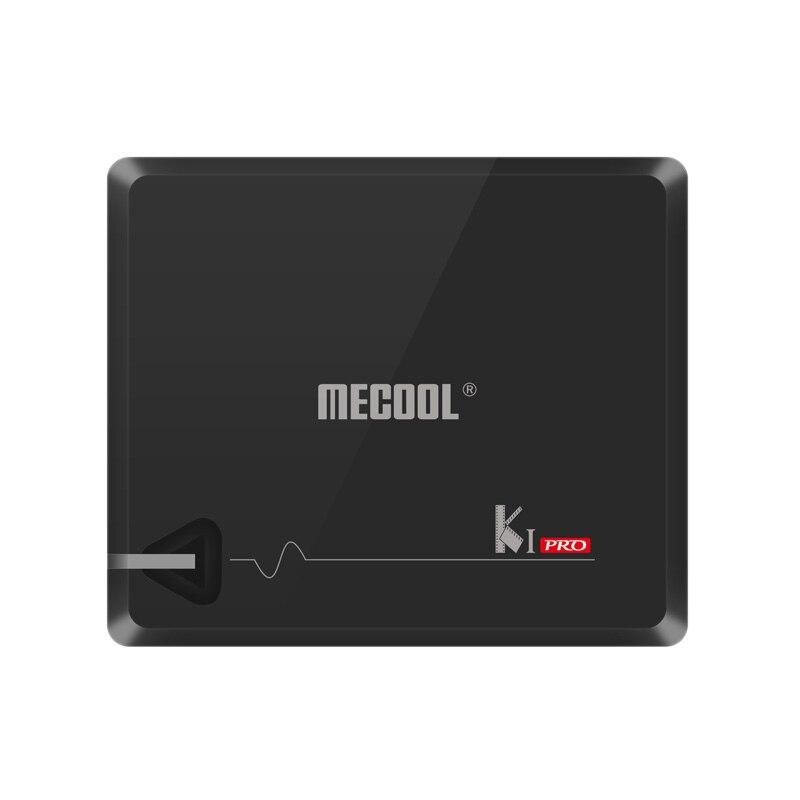 Mecool Ki Pro Android 7.1 2G Ram 16G Rom Amlogic S905D Ddr4 Hd 4K 2.4G/5G lecteur réseau Wifi avec boîtier Tv Stalker et Dvb (Us P