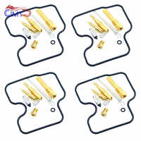 For Honda CB400 NC31 CBR400RR NC29 CB400SF V-TEC Carburetor Repair Kit Jet  Needle Float Needle Valve Gasket O-ring Rebuild Set